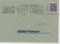 German Postal History Stamps Cover Ref: R4616