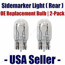 Sidemarker (Rear) Light Bulb 2pk - Fits Listed Toyota Vehicles - 7443