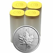 2017 Canada Silver Maple Leaf 1oz BU 100pc in Tubes