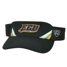 NCAA East Carolina Pirates ECU Top of the World Sun Visor Hat  Black Adjustable