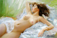 SS273 Handpainted nude Girl Oil Painting On Canvas Modern art for home decor