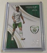 2017 Panini Immaculate Soccer Base Card - Shane Long (#52) 09/75 Jersey# Ireland