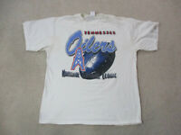 VINTAGE Tennessee Oilers Shirt Adult Extra Large White NFL Football Titans 90s*