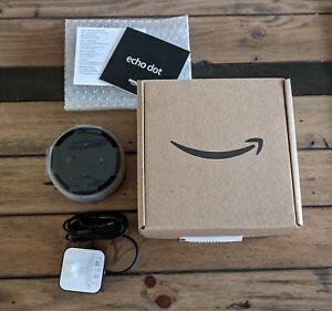 Amazon Echo Dot (3rd Gen) Smart Speaker - Heather Gray -Stupendous Condition
