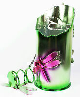 Wine Bottle Holder Stopper Dragonfly Metal Colourful Novelty Storage Gift NEW
