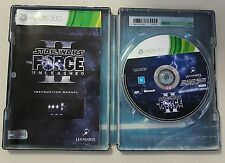 STAR WARS : THE FORCE UNLEASHED ii 2 - XBOX 360 GAME - STEELBOOK EDITION