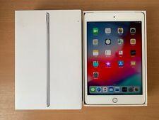GRADE A Apple iPad mini 4 128GB, Wi-Fi + Cellular (Unlocked), 7.9in - Silver