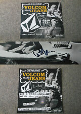 Ds Genuine Volcom Brand Jeans Valient Thorr Poster 22x28 ~ Signed by Eiden Thorr
