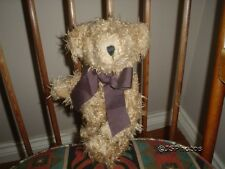 Germany Teddy Bear Jointed Curly Soft Faux Mohair 12 inch Sunkid Button