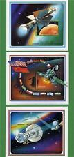 "SET of THREE GRENADA SOUVENIR STAMP SHEETS - SC#2003-2005 ""EXPLORATION of MARS""."