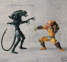 Alien vs Predator : ALIEN & PREDATOR PRE-COLOURED MODEL KIT SET MADE IN 1995