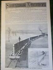 Electric Generator Dynamo - Rubber Toy Dolls 1893 Prefab Bridge - Lur