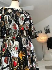 Dolce And Gabbana Playing Cards Dress