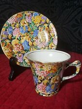James Kent ltd Chintz Hydrangea Tea Cup & Saucer