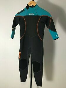 Mystic Star Kids Fullsuit 3/2mm Back Zip Wetsuit - Teal - X Small