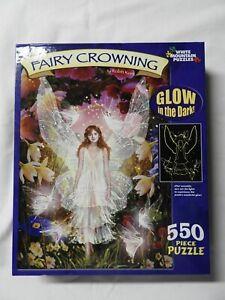 WHITE MOUNTAIN - Fairy Crowning - Koni - Glow in Dark - 550 pc. - 2006 Unopened