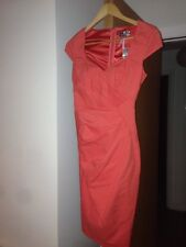 Ladies Lipsy BNWT Coral Size 6 Dress