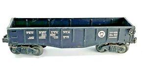 Vintage Lionel Pennsylvania 347000 Gondola Black 2452 Lot A