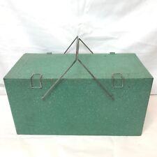 Vintage Coleman Steel Red Cooler Camping-Kühlboxen & -Kühlschränke Ice Tray in Retail Box 44 QT 5254-703 LOW-BOY