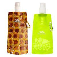 Trespass Hydromatic Collapsable Water Bottle for Hiking Trekking Sport 480 ml