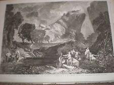 La diosa de la discordia en el Jardín De Las Hesperides J W M Turner 1857 Print