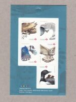 OWL, FALCON, OSPREY, BLUE JAY, LOON = FRONT Bklt page of 5 Birds of Canada 2017