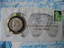 CHINA 1 Dollar 1934 Numisbrief Sun Yat Sen / Dschunke TOP Zustand eingeschweißt