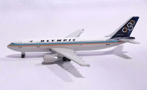 HERPA WINGS 1/500 OLYMPIC 501811 Airbus A300-600 Scale Diecast Model