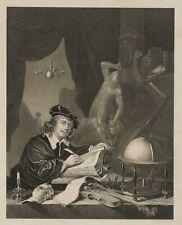 A.PAYNE (*1812) nach DOW (*1613), Selbstporträt des Malers Gerhard Dow, um 1860,