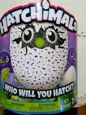 Hatchimals Draggles Purple Egg Electronic Plush Toy - Spin Master