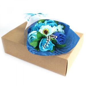 Seifenblumen-Bouquet in Schachtel [Farbe wählbar]