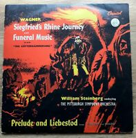 Wagner-Siegfried's Rhine Journey And Funeral MusicPrelude And Liebestod LP