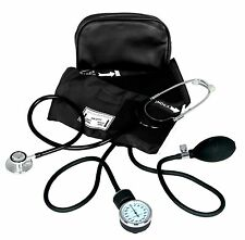 New BACK Adult BP Cuff Blood Pressure Kit With Matching Seperate Stethoscope