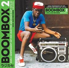 BOOMBOX 2 Hip Hop Electro Disco Rap 1979-83 CD NEW 2017