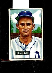 1951 BOWMAN #298 JOE ASTROTH A'S VG E01644
