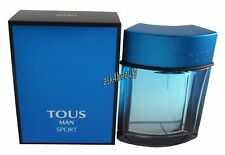 Tous Man Sport 3.4oz/100ml Edt Spray For Men New In Box