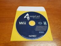 Resident Evil 4 Wii Edition (Nintendo Wii, 2007) TESTED