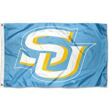 Southern Jaguars Light Blue SU Logo Flag Large 3x5