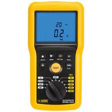 Aemc 6524 215552 Digital Megohmmeter Withbargraph Alarm Amp Memory