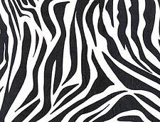 """Zebra Print Gift Wrap Tissue Paper 20"""" X 30"""" 10 Sheets"""