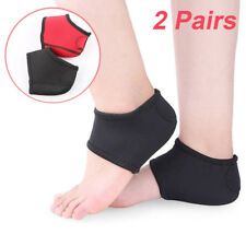 1pair Foot Plantar Fasciitis Therapy Wrap Arch Support Relieve Heel Pain Sock GT