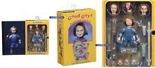 """Juego de niños Ultimate Chucky de 4"""" pulgadas de alto (10 Cm) Figura de acción (Neca) - En Stock"""