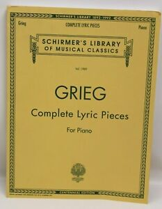 Schirmer's Library of Musical Classics GRIEG Complete Lyric Pieces NEU (L)