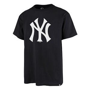 MLB New York Yankees Ny N.y.T-Shirt Imprint Echo Baseball Tee Shirt Navy