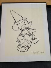 DISNEY Fantasia 1940 with Mickey Mouse Silkscreen #365-783-00 printed in England