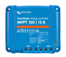 Solar Laderegler Victron SmartSolar MPPT 100/15  für 12 + 24 Volt, mit Bluetooth