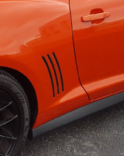 Camaro Fender Vent Inserts Inlays Vinyl Decals Stripes Inlays 2010 - 2015