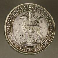 German State Stolberg 1739 2/3 Thaler Engraving on Obverse