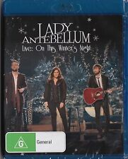 Lady Antebellum - Live: On This Winter's Night Blu-ray New Sealed FREE POSTAGE