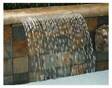"Pentair 581418ARP Magicfalls Water Effect Super 13"" Lip Series Arc Rain, Copper"
